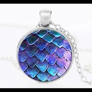 Crystal Dome Necklace Dragon Egg game of Thrones